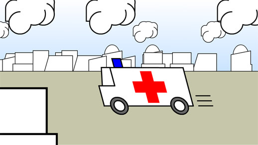 Animation and Illustration for an e-health IBM movie